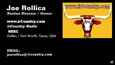 Joe Rollica - irCountry.com